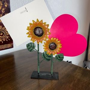 Sunflower picture holder